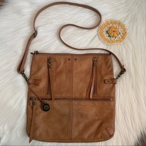 The Sak Versatile Leather Hobo/Crossbody Purse